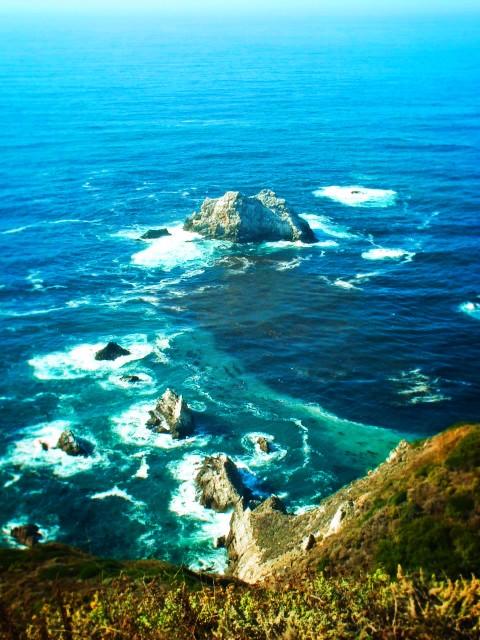 Carmel Coastline aqua waters 17 Mile Drive 1