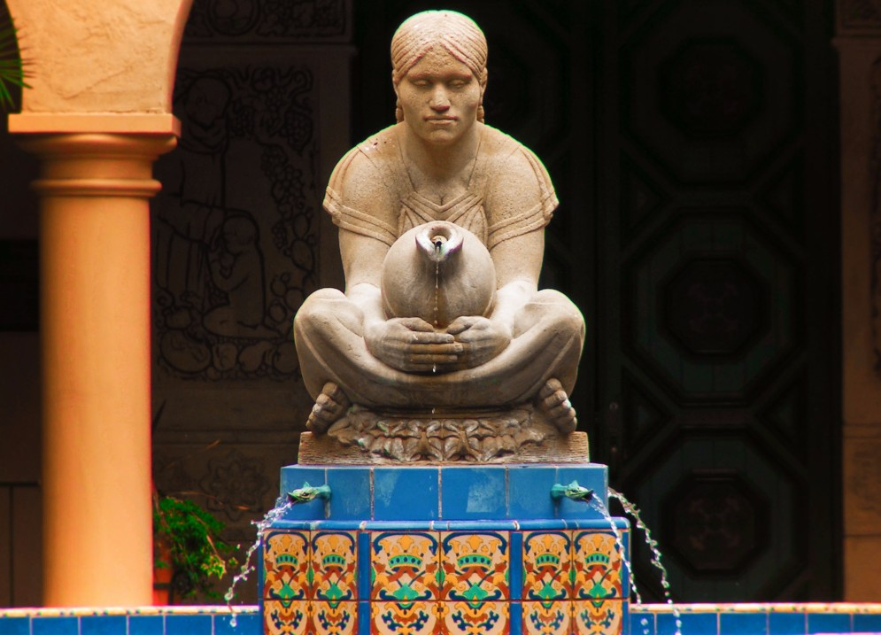 Fountain in Balboa Park San Diego 1
