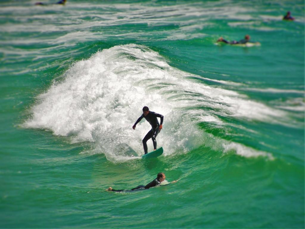 Huntington Beach Surfers 1