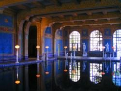 Indoor Pool at Hearst Castle San Simeon California Coast 1