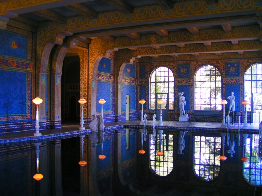 Indoor Pool at Hearst Castle San Simeon California Coast 1