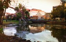 LaBrea Tarpits Sculptures in Large Pond Los Angeles 7