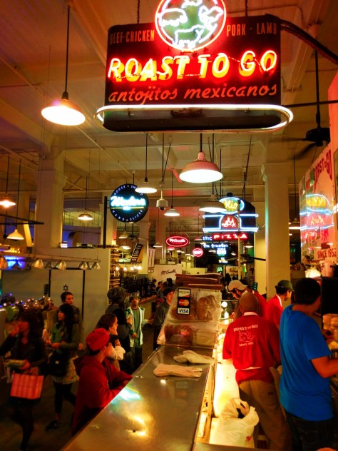 Neons in Grand Central Market Los Angeles 4