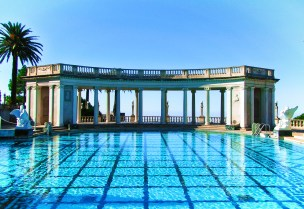 Neptune Pool at Hearst Castle San Simeon California Coast 2