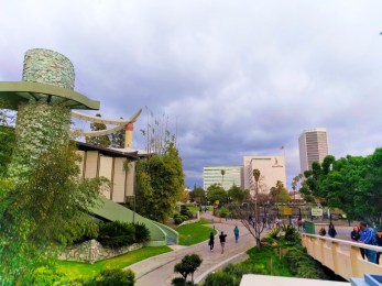 Outdoor Sculpture Garden at LACMA Los Angeles 2