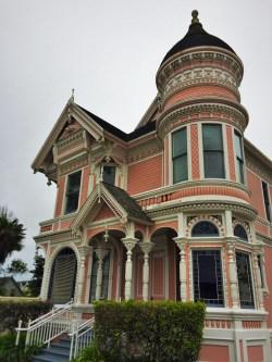 Pink Lady house near Carter House Inn Eureka 1