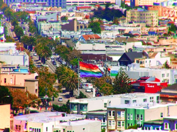 Rainbow Flag at the Castro San Francisco 1
