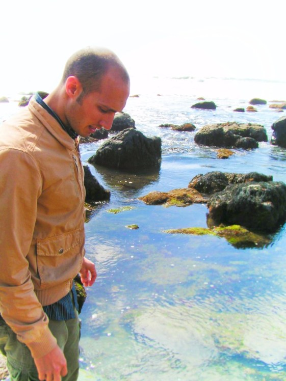 Rob Taylor in Tide Pools at Cabrillo National Monument 1