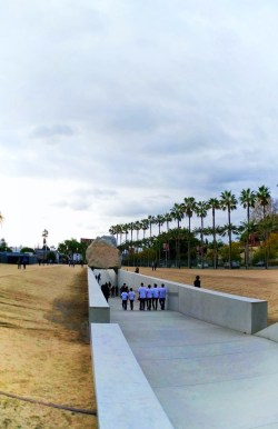 Rock Tunnel Installation at LACMA Los Angeles 1