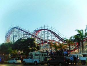 Roller coaster at Mission Beach San Diego 1