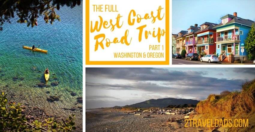 A USA West Coast road trip is the dream of travelers around the world. From mountains to beaches, cities to small towns, planning a trip down the coast is easy! 2traveldads.com