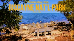 Biscayne National Park is a perfect Miami day trip to add to a weekend getaway, cruise ship port, or Florida road trip. Wildlife and boating at its best. 2traveldads.com