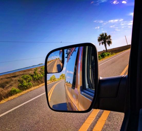 Escape Campervan on Highway Citrus County Florida 1