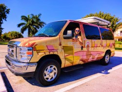 Rob Taylor with Escape Campervan at Biscayne National Park 1