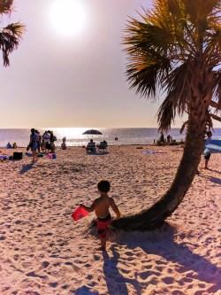 Taylor Family at Beach in Tarpon Springs Florida 4