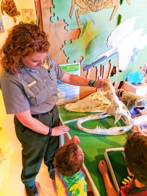 Taylor Family at Gulf Coast Everglades National Park Visitors Center 4