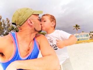 Taylor Family at Naples Beach Florida 3