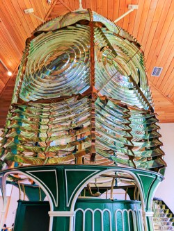 Lantern Lens Museum at Ponce Inlet Lighthouse Daytona Beach 1