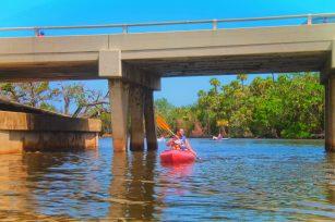 Taylor Family Kayaking in Tomoka State Park Daytona Beach 19