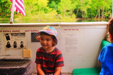 Taylor Family on Ecotour at De Leon Springs State Park Daytona Beach 11