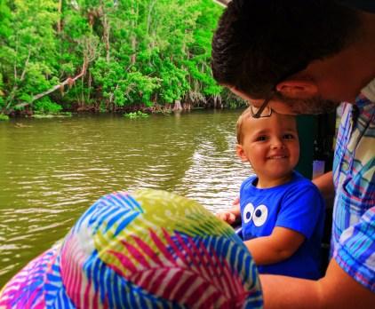 Taylor Family on Ecotour at De Leon Springs State Park Daytona Beach 6