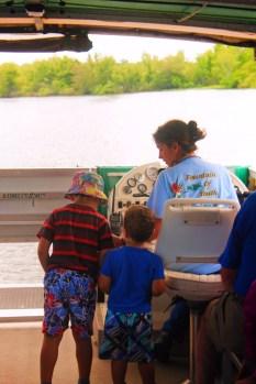 Taylor Family on Ecotour at De Leon Springs State Park Daytona Beach 9