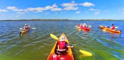 Taylor family kayaking Ripple Effect Ecotours at GTM Reserve St Augustine 4