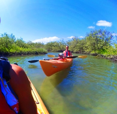 Taylor family kayaking Ripple Effect Ecotours at GTM Reserve St Augustine 7
