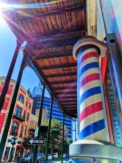 Barber Shop swirl Historic District Downton Mobile Alabama RSA Tower 1