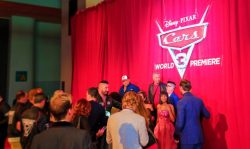 Cast Group Photo on Red Carpet Cars 3 Premiere 2017 1