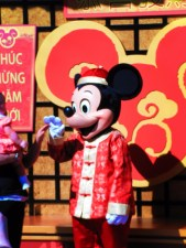 Chinese New Year Mickey Mouse Disneyland 1
