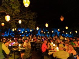 Inside Blue Bayou Restaurant Pirates of the Caribbean New Orleans Square Disneyland 1