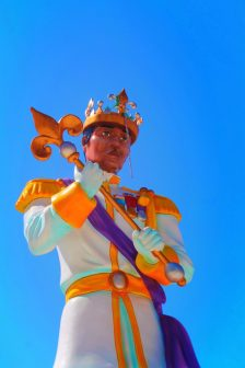 Mardi Gras Plaza statue Mobile Alabama 1