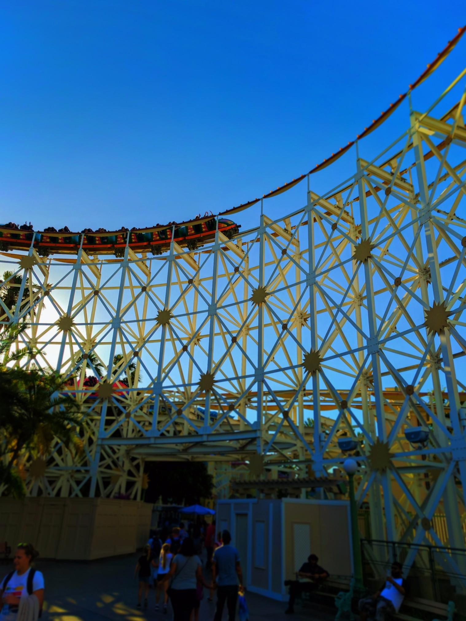 California Screamin and Paradise Pier Disneys California Adventure 3