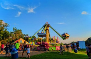 Carnival at 4th of July Fireworks Monona Community Festival Wisconsin 1