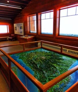Inside Visitors Center at Hurricane Ridge Olympic National Park 1