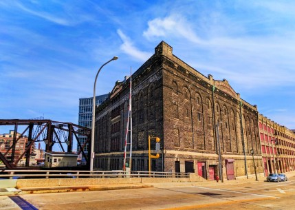 Old brick factory in Historic Third Ward Downtown Milwaukee 1