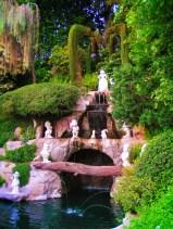 Snow White Wishing Waterfall Fantasyland Disneyland 1