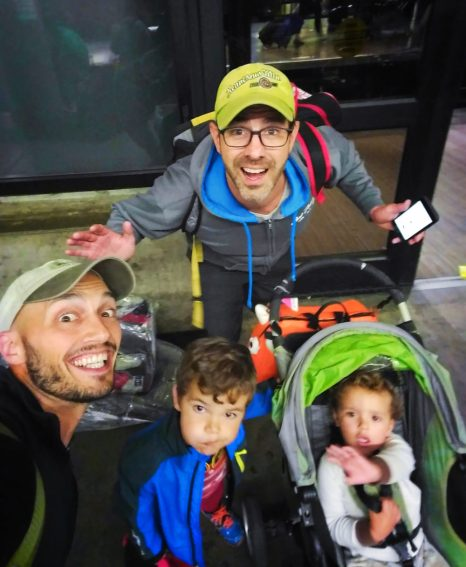 Taylor Family Travel at SeaTac Airport 1