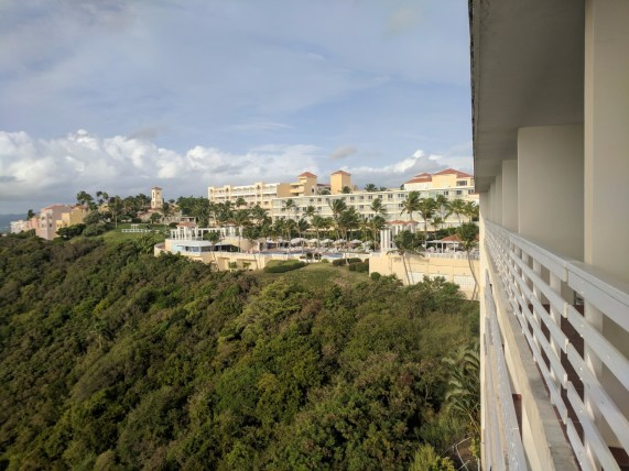 View at El Conquistador Waldorf Astoria Puerto Rico