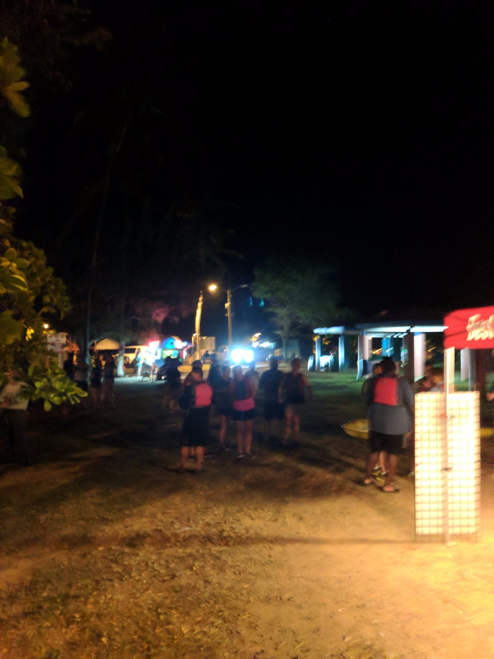 Prepping for Bioluminescent kayaking Puerto Rico