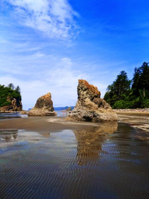 Sea Stack at Ruby Beach Olympic National Park 3