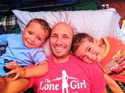 Taylor Family camping at Kalaloch Olympic National Park 11