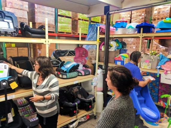 Carseats at WestSide Baby National Diaper Bank Network Huggies 2