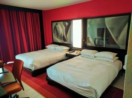 Double queen room at Condado Plaza Hilton San Juan Puerto Rico 2