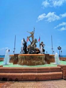 Fountain in Plaza Princessa Old San Juan Puerto Rico 1