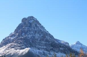 Snowy peaks in Two Medicine Glacier National Park