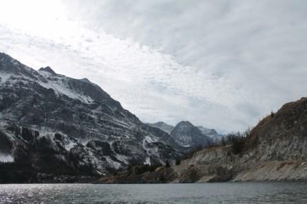 Rising Sun area St Mary Lake Glacier National Park