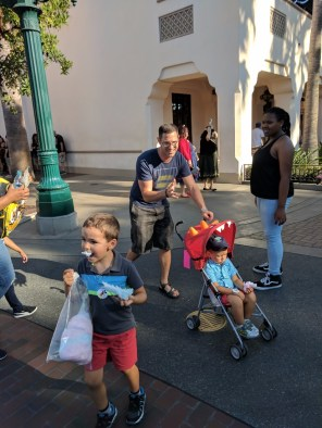 Taylor Family in Disneyland Sep 2017 5