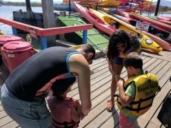 Taylor Family Kayaking at Morro Bay State Park 4